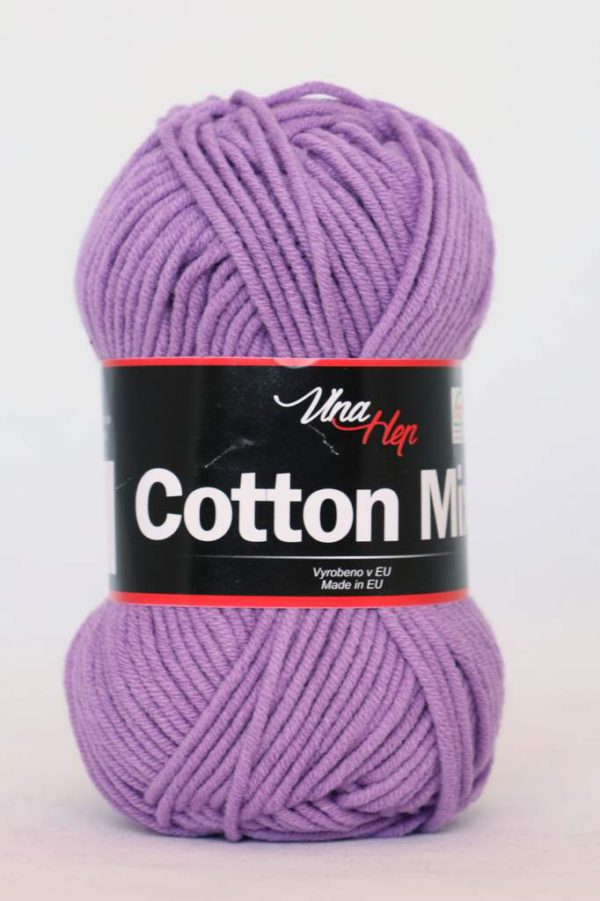COTTON MIX FIALOVÁ